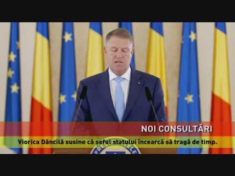Consultările la Cotroceni, pentru desemnarea unui nou premier, continuă
