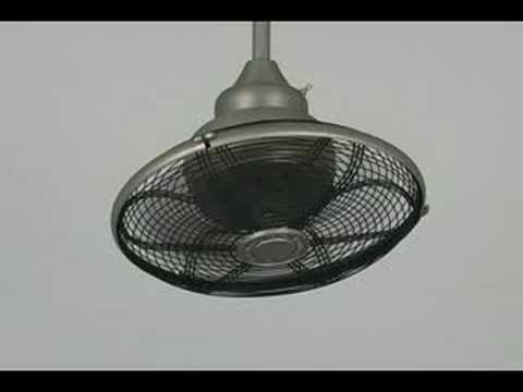 Video for Extraordinaire Satin Nickel Orbital Ceiling Fan