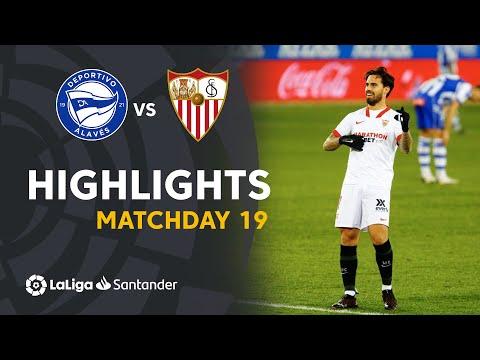 Highlights Deportivo Alavés vs Sevilla FC  (1-2)