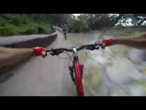 Biking Ridiculously Fast Down a Bobsled Track Is