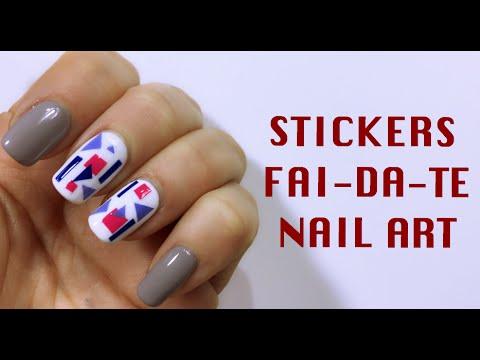 nail art mikeligna - stickers fai da te