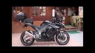 7. Spec-A ヤマモトレーシングサウンドを�� 2012 Ninja 1000 カワサキ・Z1000SX カワサキ・ニンジャ1000 Kawasaki Ninja 1000 �京