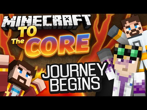 Minecraft Mods - To The Core! #1 JOURNEY TO THE CORE