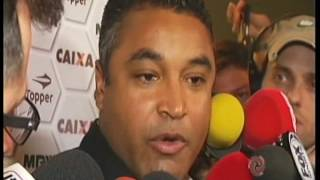 Em entrevista, o técnico do Atlético avalia empate como positivo e diz que, apesar do resultado, jogo foi tranquilo.