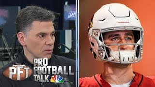 Cardinals have to be careful with Josh Rosen remarks | Pro Football Talk | NBC Sports