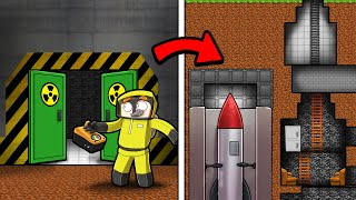 Secret NUCLEAR Bunker in Crazy Craft! (Minecraft)