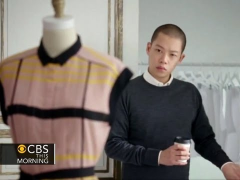 Jason Wu - Fashion designer Jason Wu - best known for designing Michelle Obama's gown for the Inaugural Ball - debuted a line of affordable clothes at Target. Erica Hil...