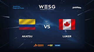 Akatsu vs Luker, game 1