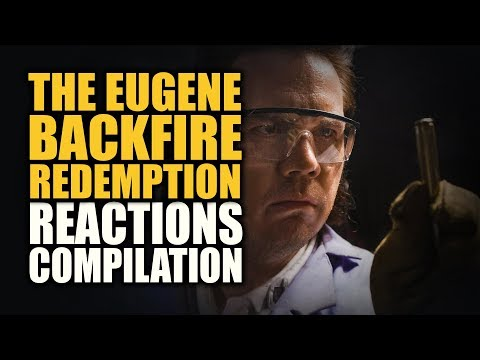 The Walking Dead THE EUGENE BACKFIRE REDEMPTION Reactions Compilation