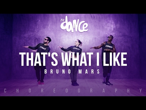 Thats What I Like - Bruno Mars (Choreography) FitDance Life