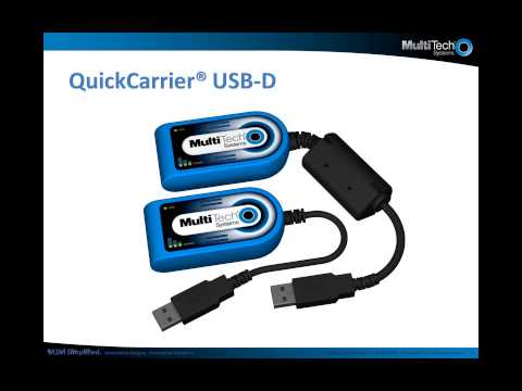 Multi-Tech M2M Device Spotlight: Cellular USB Modem