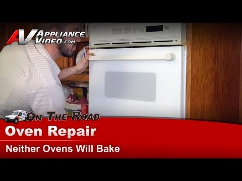 Whirlpool Wall Oven Repair – Neither Ovens Will Bake – WW2780W