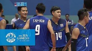 Video Volleyball Men's Team Semi-Final - THA vs INA | 28th SEA Games Singapore 2015 MP3, 3GP, MP4, WEBM, AVI, FLV Mei 2018