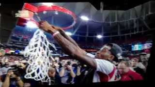 Kevin Ware Cuts Down Net 2013 NCAA Championship Game April 8th,2013