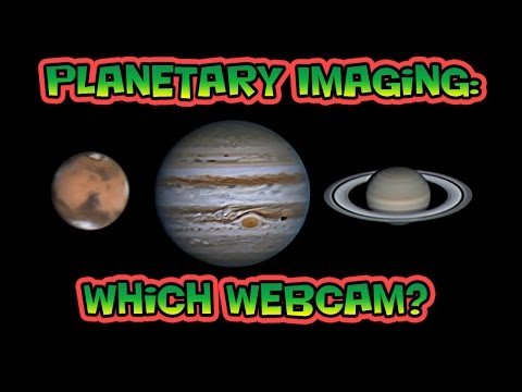 Planetary Imaging Which Webcam
