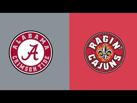 Week 5 2018 Louisiana Lafayette at #1 Alabama Full Game Highlights