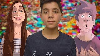 Video ESSAYEZ DE NE PAS RIRE ! - LES YOUTUBERS EN DESSIN ANIME ! MP3, 3GP, MP4, WEBM, AVI, FLV Juli 2017