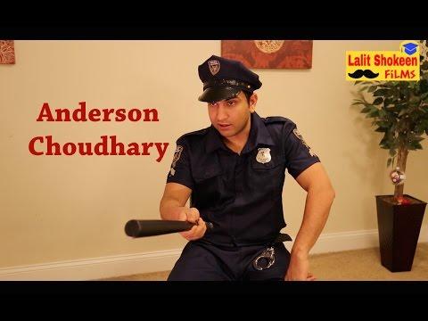 Anderson Choudhary in NewYork Police - | Lalit Shokeen Comedy |