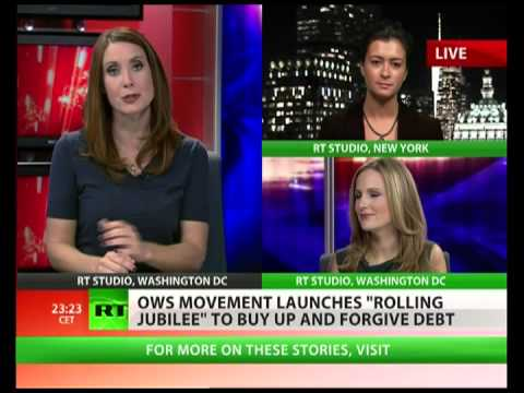 ows - All across the US, Americans are finding it more difficult to pay their debts, but members of the Occupy Wall Street movement have come up with a solution to...