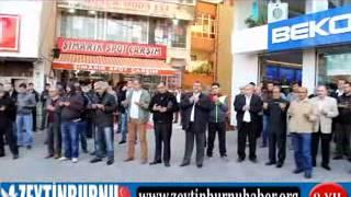 MHP Zeytinburnuİlçe Kadın Koları Aşure Dağıttı