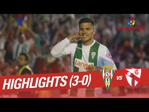 Resumen de Córdoba CF vs Sevilla Atlético (3-0)