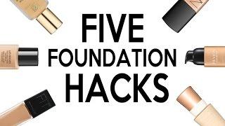 FIVE LIFE CHANGING FOUNDATION HACKS 2016! by Wayne Goss