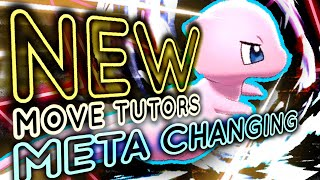 The NEW MOVE TUTORS are META CHANGING! Pokemon Sword and Shield Isle of Armor! by PokeaimMD