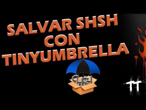 SALVAR SHSH BLOBS | TINYUMBRELLA | PARA HACER DOWNGRADE DE IOS (видео)