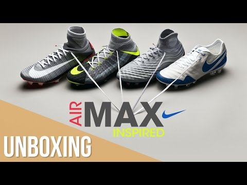 Unboxing Nike REVOLUTION PACK // Air Max Day Nike Football