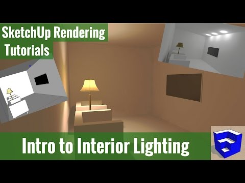 Rendering In SketchUp - Intro To Interior Lighting