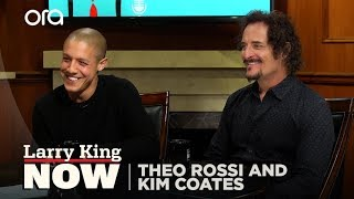 Sons of Anarchy: Theo Rossi and Kim Coates   Larry King Now - Ora.TV