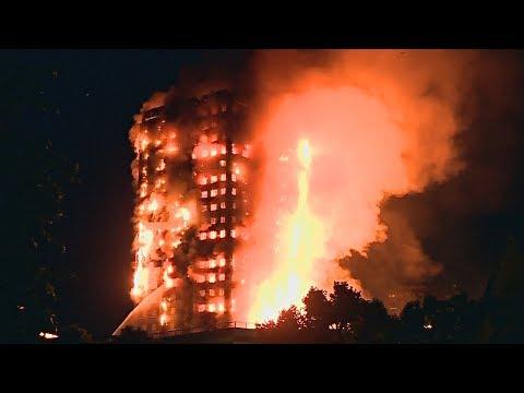 В Лондоне горит 24-этажный жилой дом (новости) - DomaVideo.Ru