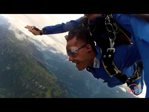 Skydive Interlaken Rahul, 29.8.2014