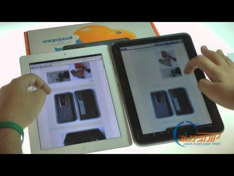 סקירת השוואה: iPad 2 Vs HTC Jetstream