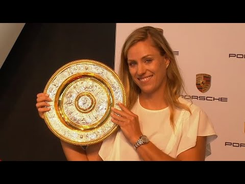 Tennis: Angelique Kerber gewinnt in Wimbledon und wird  ...
