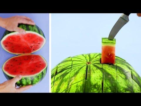 Δημιουργικοί τρόποι να σερβίρετε φρούτα και λαχανικά