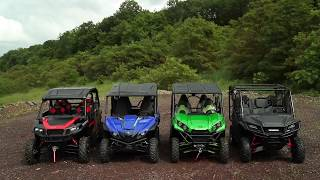 9. East Coast UTV Comparison: Pioneer 1000-5, Teryx4, General 4, Wolverine X4