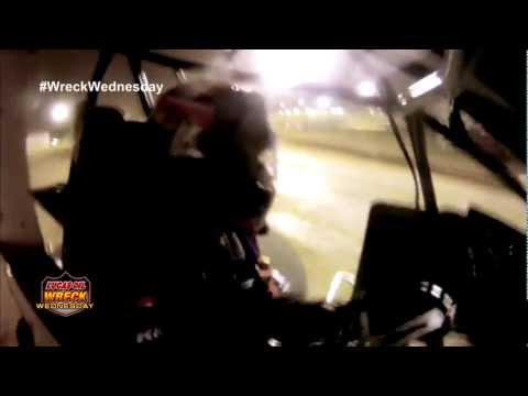 Sprint Car catches a rut at Eagle Raceway and FLIPS - WW #8