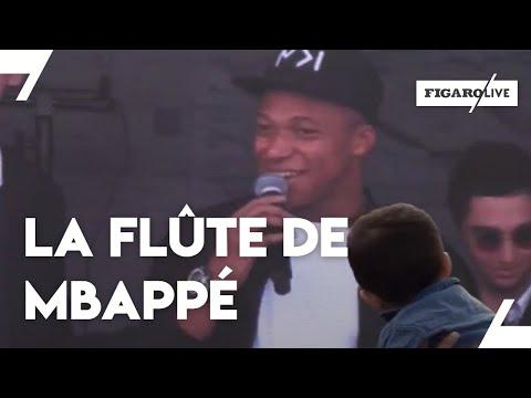Kylian Mbappé : « Mes parents voulaient que je fasse de la musique et pas que du foot »