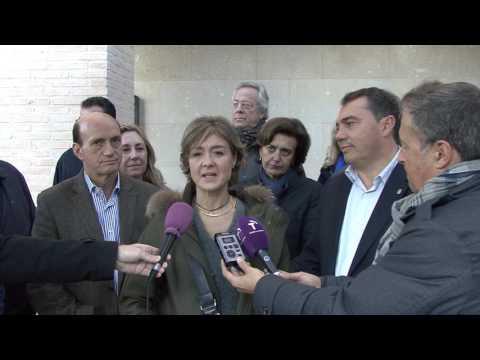 La ministra de Agricultura de campaña en Guadalajara