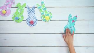 Add a homemade touch to your Easter decorating with our Bunny Bunting tutorial. Get creative with the kids with this easy craft activity that will brighten up your home and garden over Easter. Discover everything you need to make it yourself: http://bit.ly/2nOXIW5