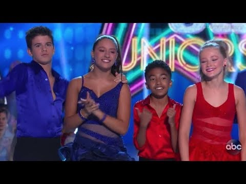Mackenzie, Sage, Rylee, Miles  - DWTS Juniors Episode 8 (Dancing with the Stars Juniors)