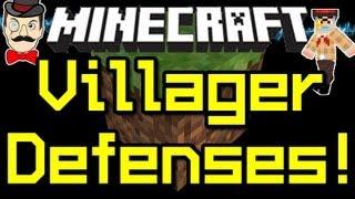 Minecraft News - VILLAGER DEFENSES - Zombies Beware ! 12w08a !