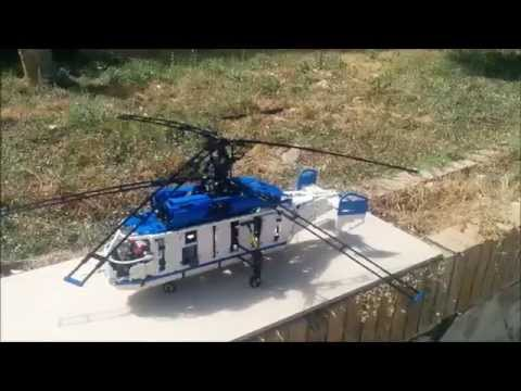 LEGO Kamov KA-32 Coaxial helicopter by Sheepo