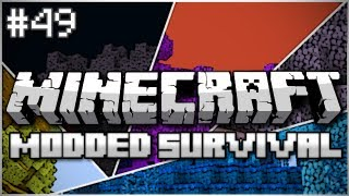 Minecraft: Modded Survival Let's Play Ep. 49 - Dungeon Constructors