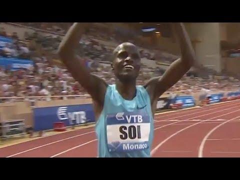 Soi wins 5000m, Lalang 13:00.95, Rupp 13:05.17