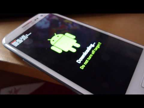 comment demarrer galaxy s3