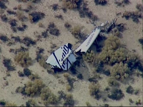 Raw - A Virgin Galactic space tourism rocket exploded Friday after taking off on a test flight, killing one person aboard and seriously injuring another while scattering wreckage in Southern California's...