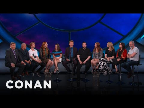 """#ConanCon: The Cast Of """"Game Of Thrones"""" Full Interview - CONAN on TBS"""