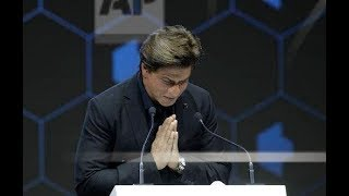 SRK speech on winning the 2018 Crystal Award